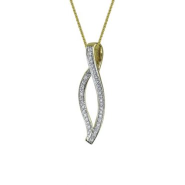 Diamond Pendant P1039