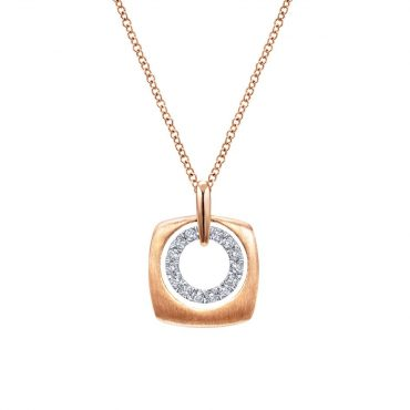 Diamond and Gold Pendants P1035