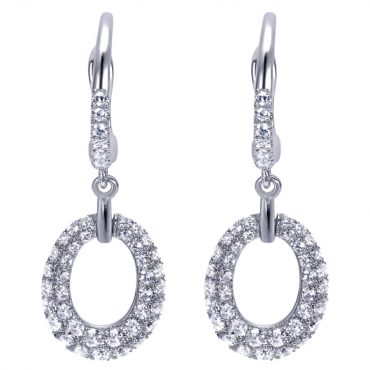 Diamond and Gold Earrings ER1031