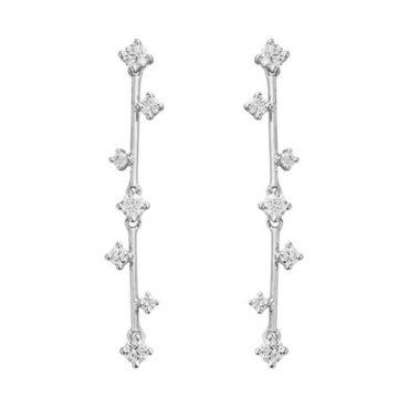 Diamond and Gold Earrings ER1054