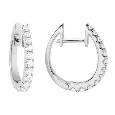 Diamond and Gold Earrings ER1057