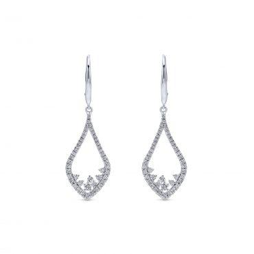 Diamond and Gold Earrings ER1068