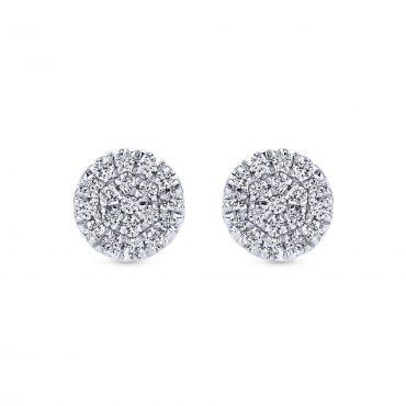 Diamond and Gold Earrings ER1069