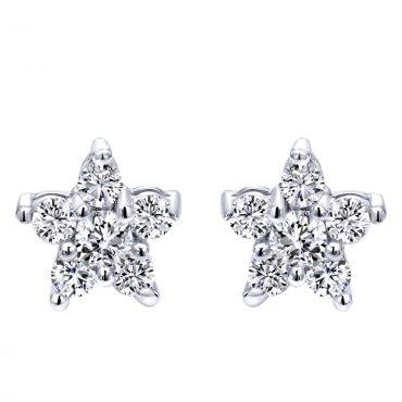 Diamond and Gold Earrings ER1063