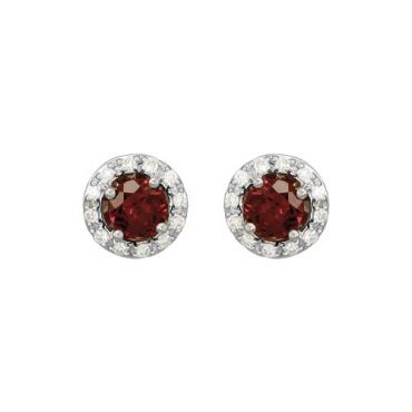 Garnet Earrings ER1008