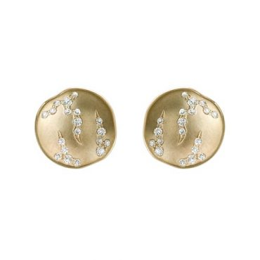 Gold and Diamond Earrings ER1017