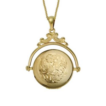 Gold Locket P1001