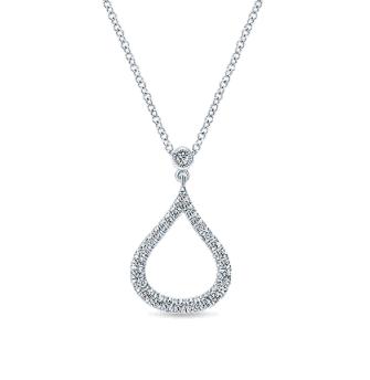 Gold and Diamond Pendant P1029