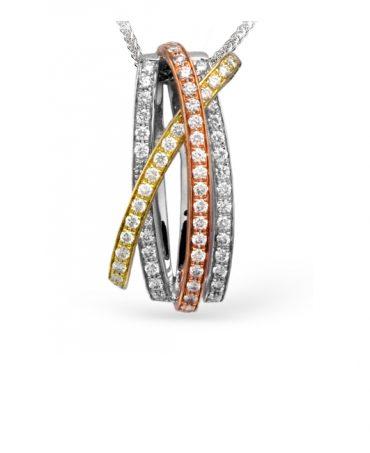 Gold and Diamond Pendant P1060