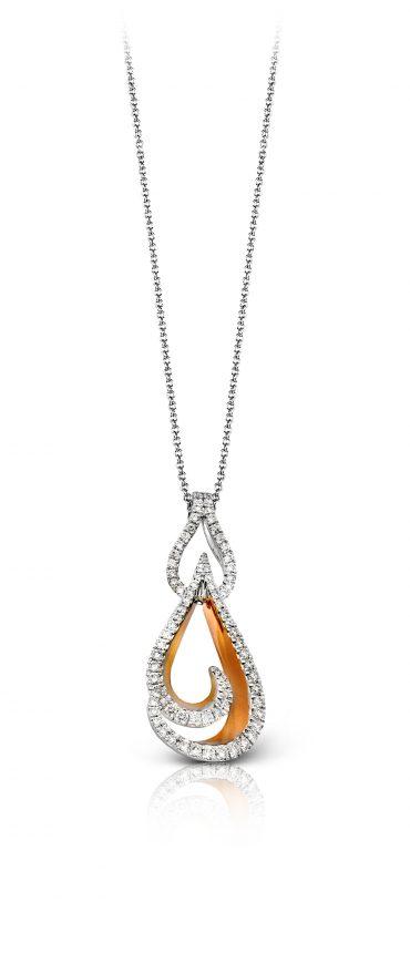 Gold and Diamond Pendant P1061