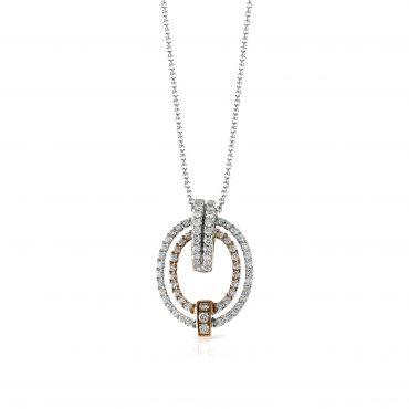 Gold and Diamond Pendant P1065