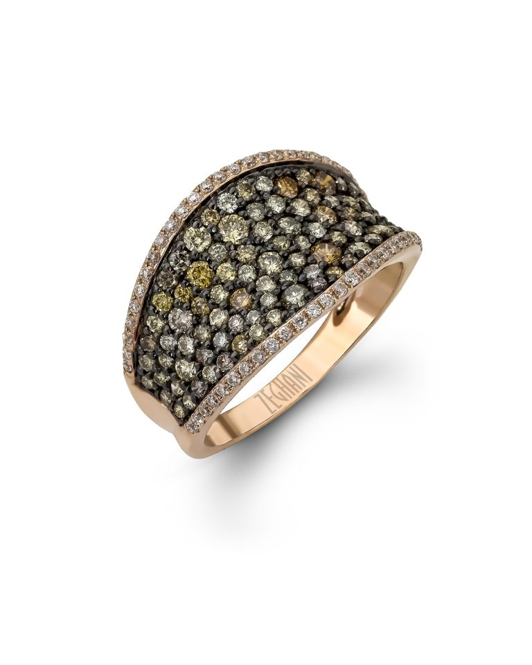Gold and Diamond Ring R1033