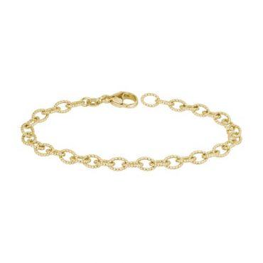 Gold Link Bracelet B1005