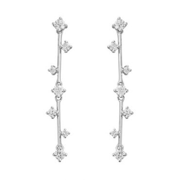 Diamond and Gold Earrings ER1054