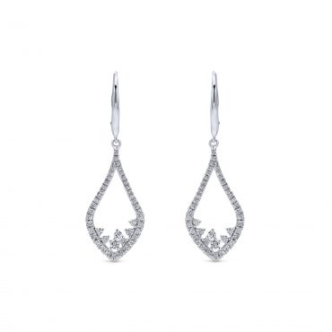 Diamond and Gold Earrings ER1068