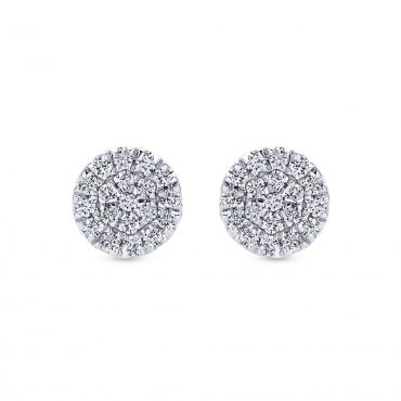 Diamond and Gold Earrings ER1069