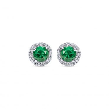 Diamond and Emerald Earrings ER1065