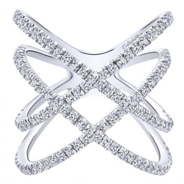 Diamond and Gold Ring R1139