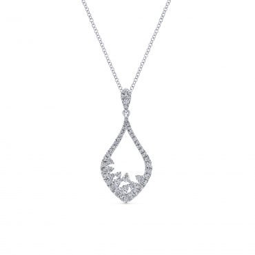Diamond and Gold Pendant P1088
