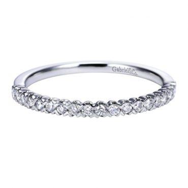 Diamonds, White Gold Wedding Ring WR1050