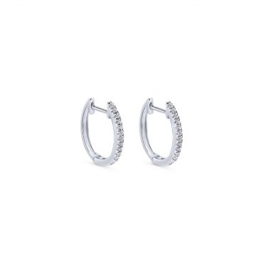 White Gold and Diamond Earrings  ER1075
